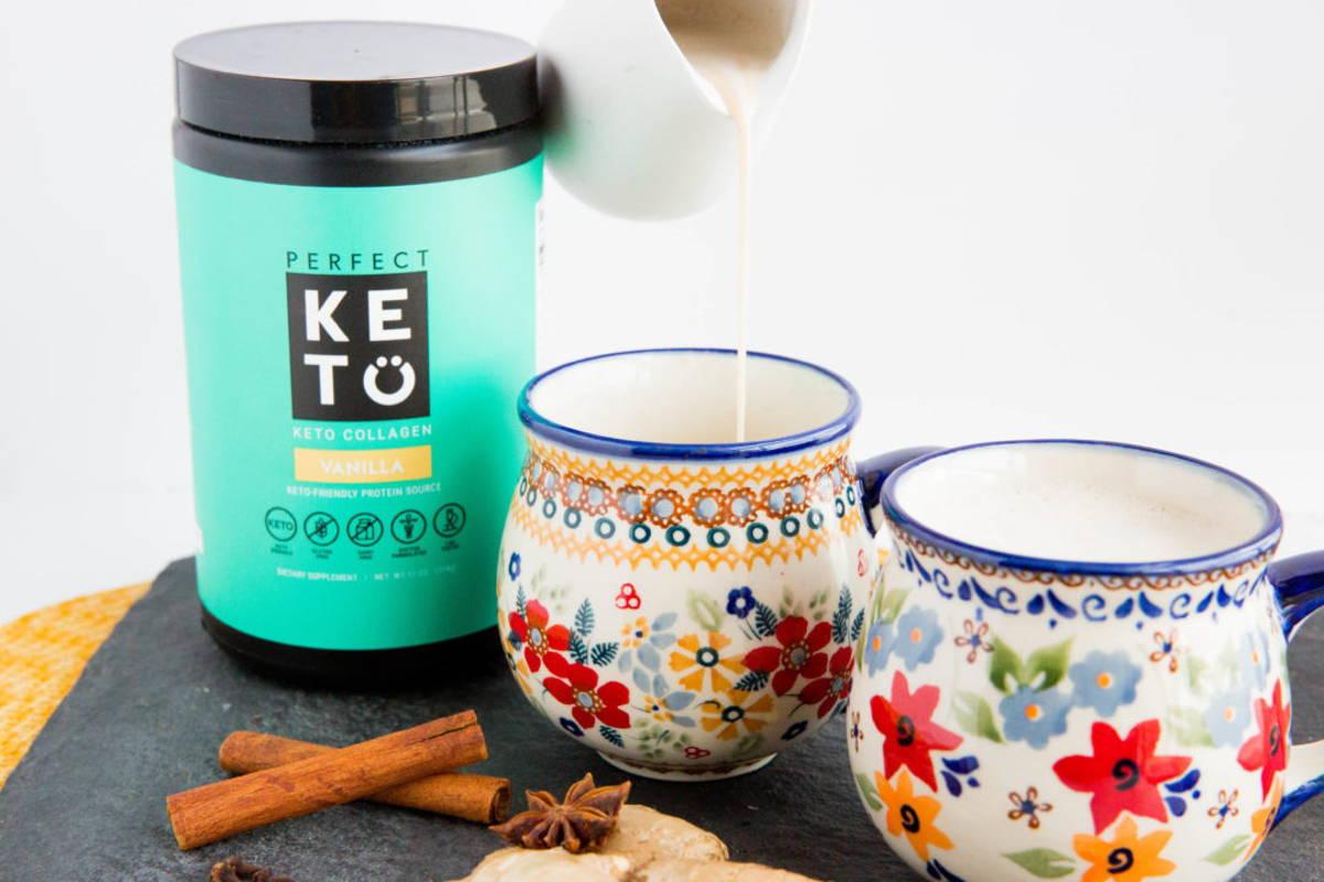 Simple, Creamy Keto Chai Latte