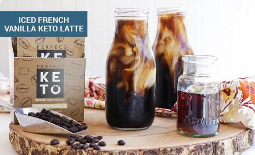 Iced French Vanilla Keto Latte