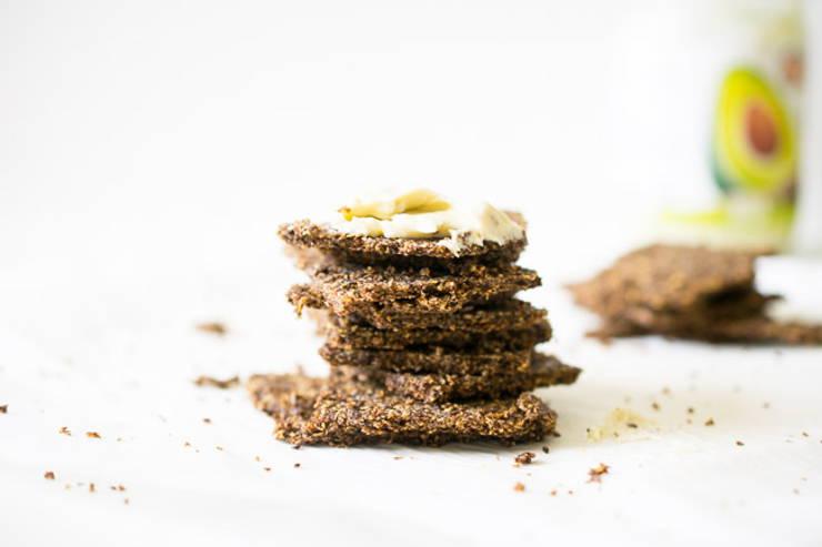 keto flaxseed crackers recipe