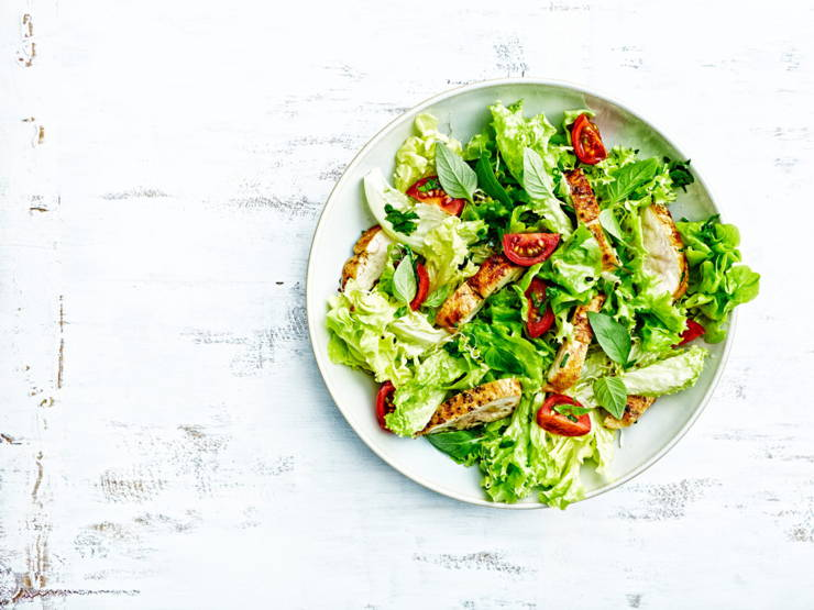 How much salad can you have on the keto diet