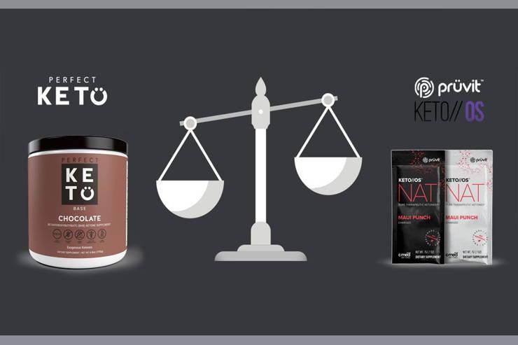 Comparing Perfect Keto vs  Pruvit Keto//OS - Perfect Keto