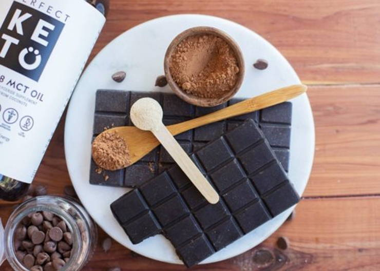 Healthy Low Carb Keto Chocolate Bars Perfect Keto
